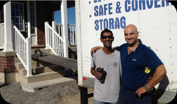 Happy Toronto Customer Seven Star Moving