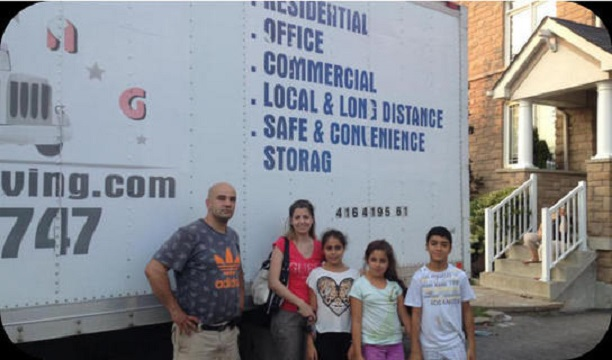 Moving Family Home Toronto Seven Star Movers
